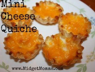 Recipe: Mini Cheese Quiche