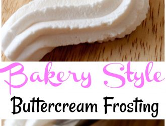 How to Make Buttercream Frosting Like a Bakery