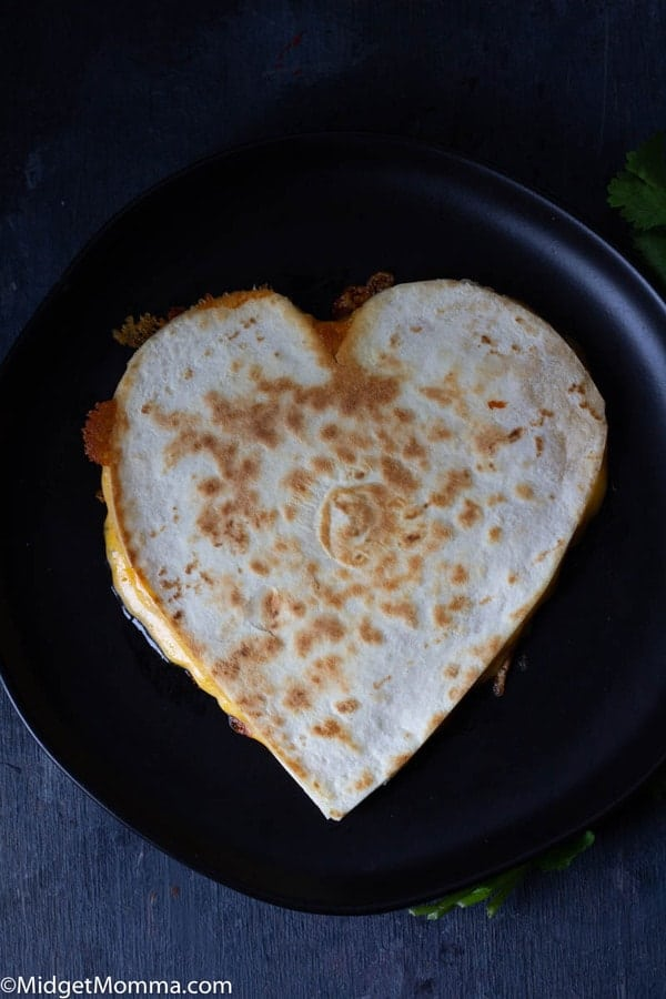 Heart Quesadilla