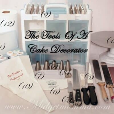 What you need to decorate cakes. List of all the tools you need to decorate a cake like a professional. What you need to decorate cakes