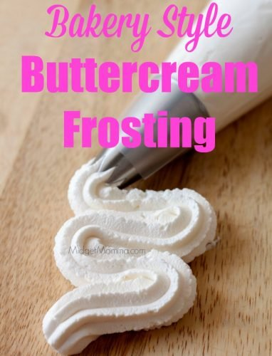 Easy to make Vanilla buttercream frosting, never buy store bought frosting again with this homemade Vanilla buttercream frosting recipe. Homemade Vanilla buttercream frosting is perfect for making cakes. Vanilla buttercream frosting tastes just like a bakery!