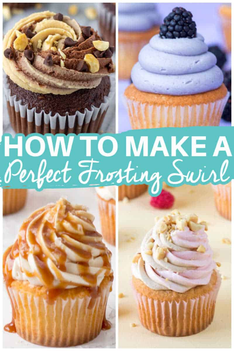 How to Frost Cupcakes with a Frosting Swirl