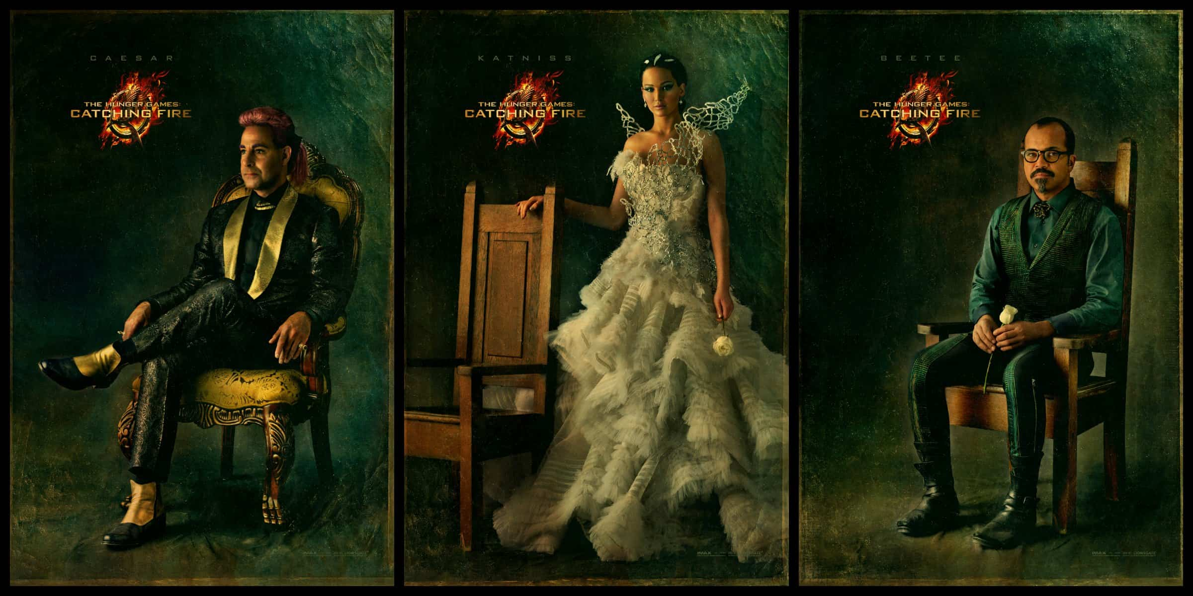 Sneak Peek at The Hungar Games Catching Fire Capitol Portraits! #TheSpark #CatchingFire