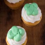 Kiss Me I'm Irish Cupcakes