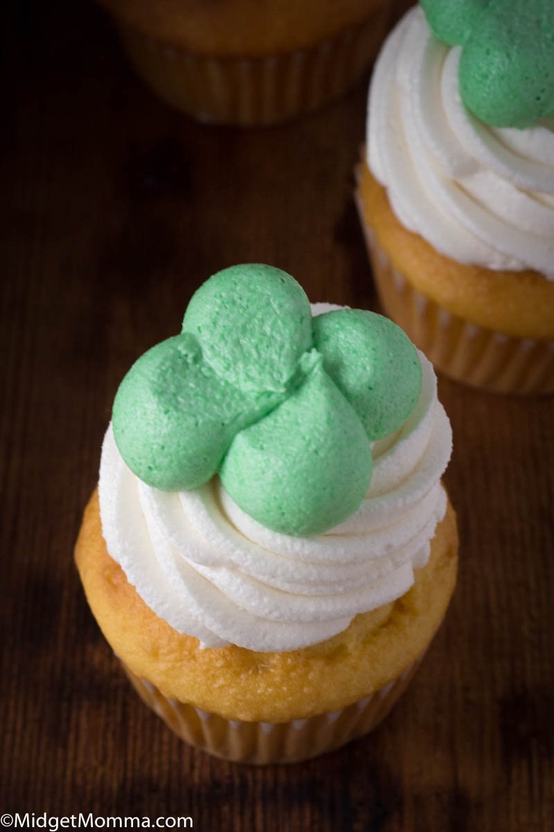 Kiss Me I'm Irish Cupcakes