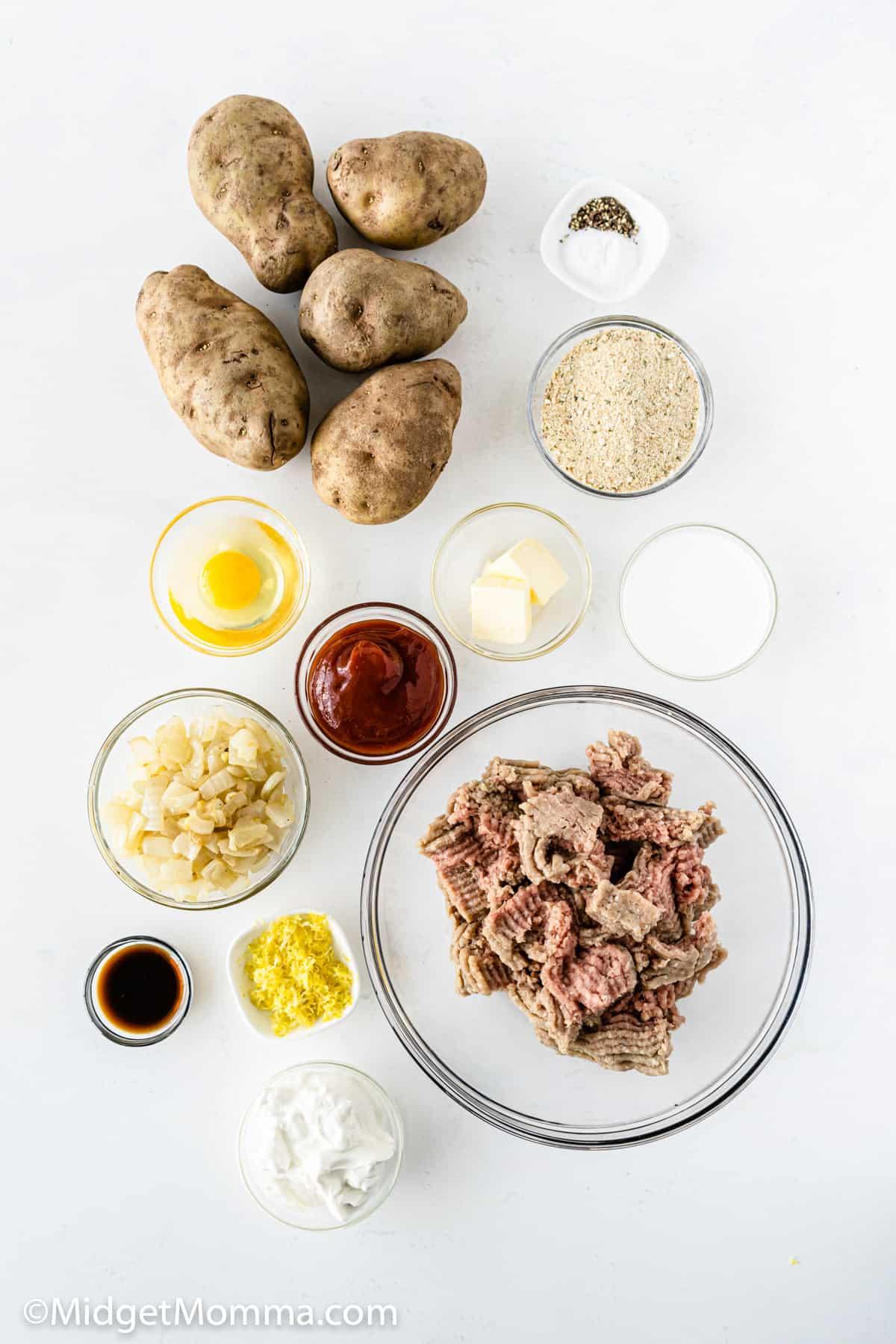 turkey meatloaf cupcakes ingredients