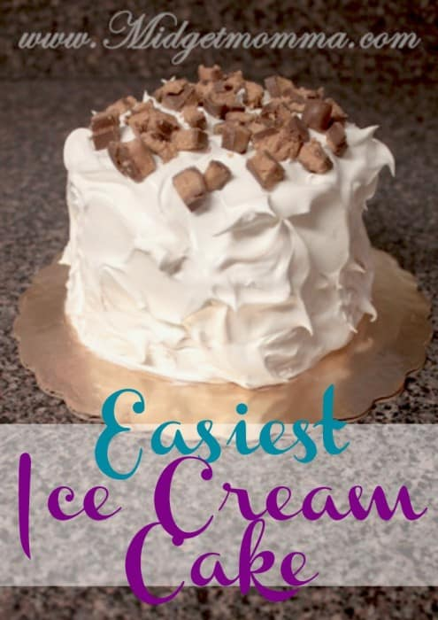Easiest Ice cream cake recipe. This is the Easiest Ice cream cake you will ever make. You can make this ice cream cake in ANY flavor you want