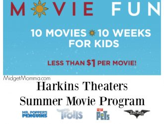 Harkins Summer Movies