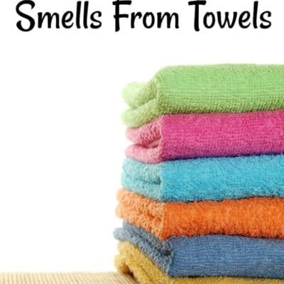 How To Remove Smells From Towels