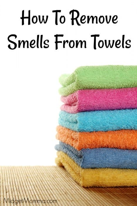 Remove Smells From Towels