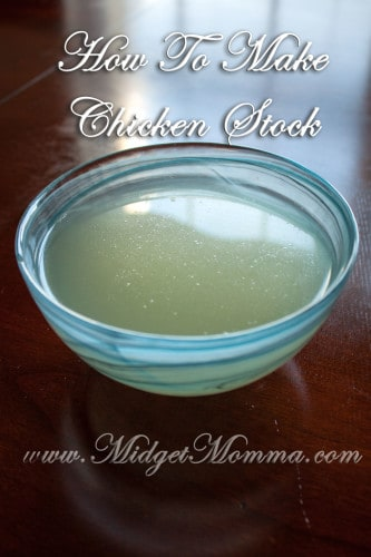 Homemade Chicken Broth Recipe is so easy to make and you will not have to worry about how much sodium is in your chicken broth.