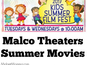 Malco Theaters Summer Movies Just $2!