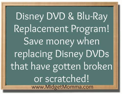 disney dvd replacement program