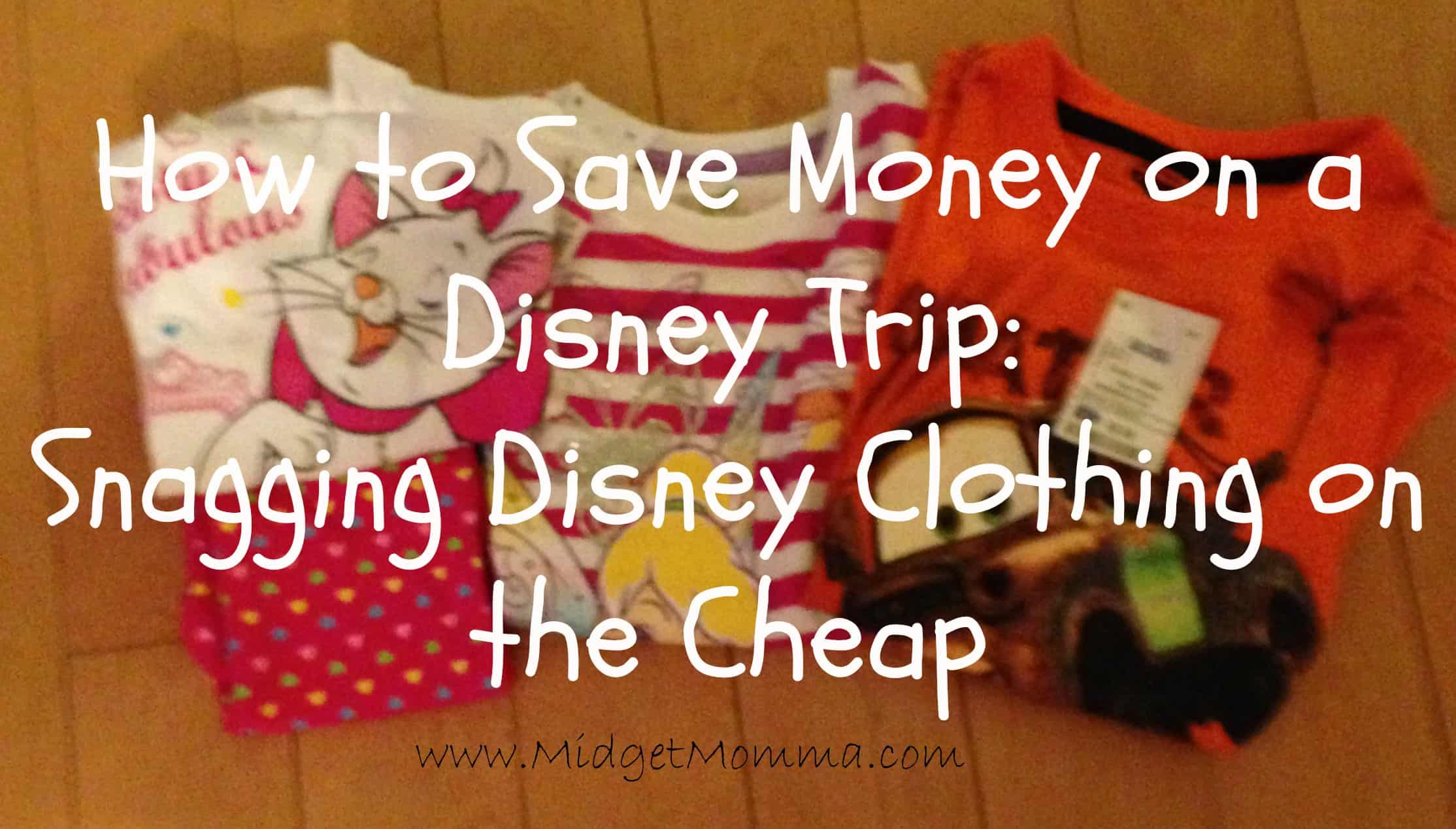 How to Save Money on a Disney Trip: Snagging Disney Clothing on the Cheap