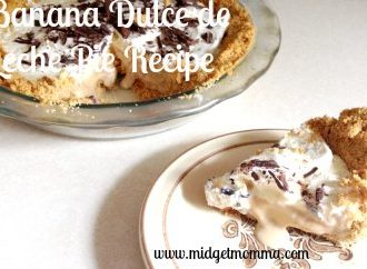 Banana Dulce de Leche Pie is a great pie that layers together a slices of bananas, dulce de leche and creamy whipped cream in a gram cracker crust