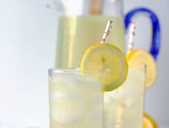 Homemade Lemonade Recipe made with Fresh Lemons!
