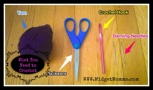 What you need to crochet