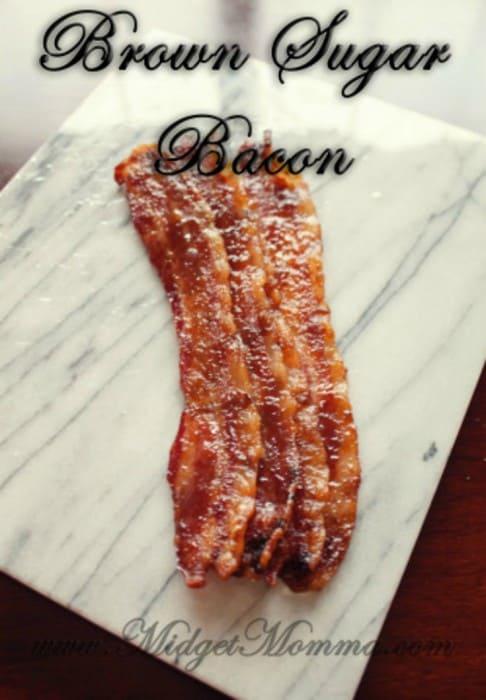 Brown Sugar Bacon Recipe, Brown Sugar Bacon, sweet bacon, bacon in the oven, baked bacon, brown sugar baked bacon, bacon for breakfast