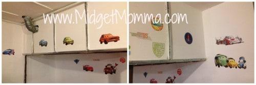 cars disney paint