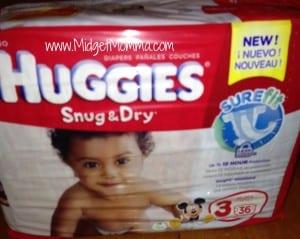 huggies diapers snug and dry