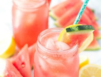 watermelon and lemon