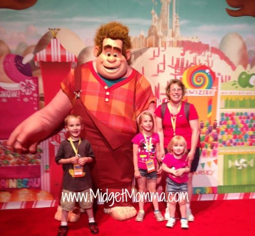 Wreck it ralph at Disney World