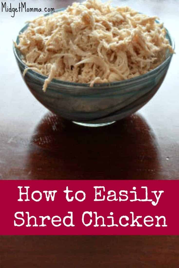 how to easily shred chicken. Black Bedroom Furniture Sets. Home Design Ideas