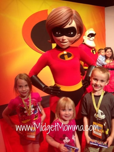 mrs incredible at walt Disney world