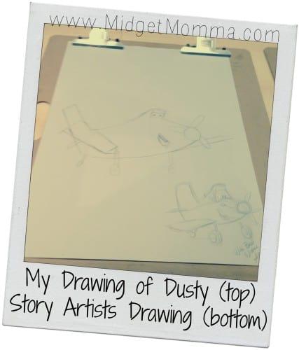 Disney Planes Story Art