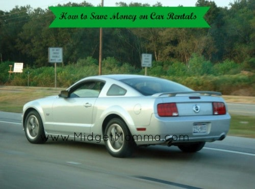 How to save money on Car Rentals