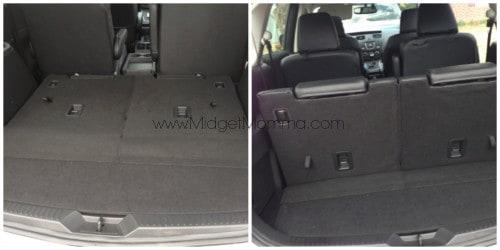 Mazda 5 trunk space