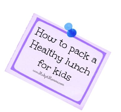How to pack a Healthy lunch for kids is a great article full of helpful tips on packing a lunch for your school aged children.
