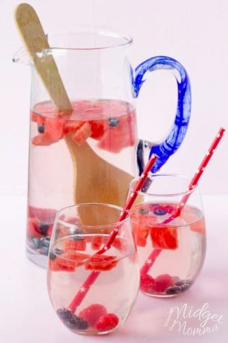 Watermelon Blueberry Water
