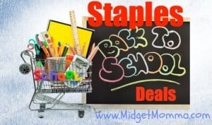staples back to school deals
