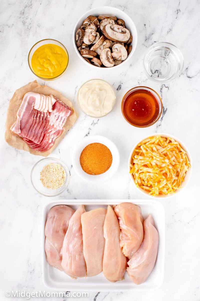 Alice springs chicken ingredients