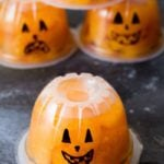 Jack-O-Lantern Fruit Cups