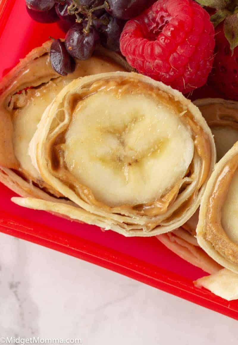 Peanut Butter Banana Roll Ups