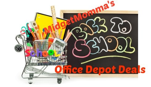 Office Depot Back to school deals 8/18-8/25