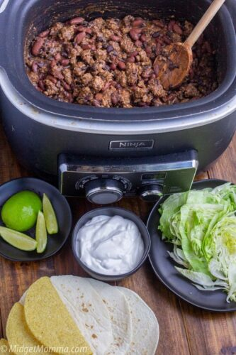 crockpot taco meat recipe