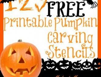 125 FREE Pumpkin Stencil Printables