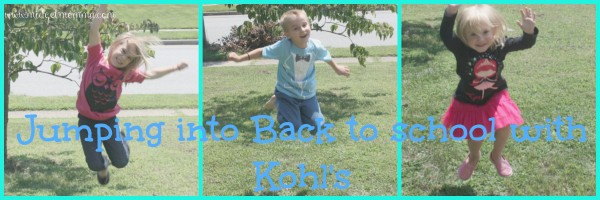 Jumping into Back To School With Kohl's