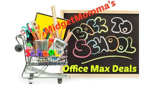 Office Max Back to School Deals 8/18-8/25