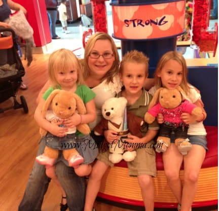 our day at build a bear