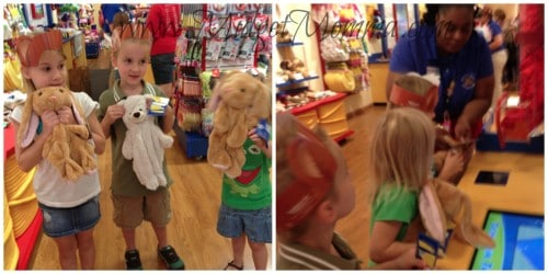 picking out build a bears