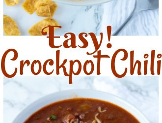 slow cooker crockpot chili, chili recipe, easy chili recipe, crockpot chili, crockpot beef recipe