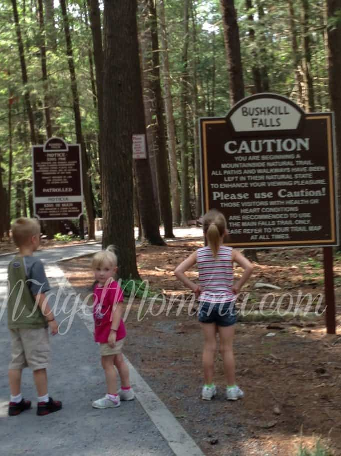 Hiking Trip in the Beautiful Bushkill Falls | Things to do in the Poconos