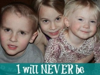 I will Never be a Super Mom, But I am the best Mom I can be