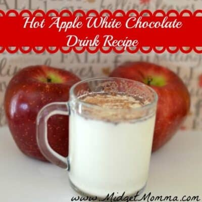 I love hot chocolate and warm apple cider and this recipe is a great combination of the two and perfect for the cold days.