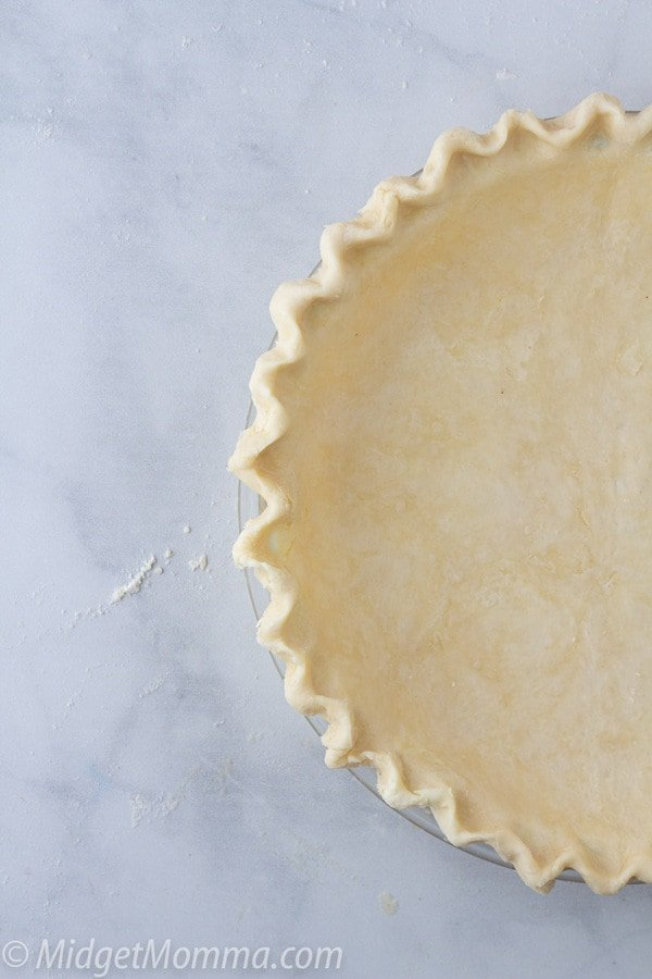 Homemade pie crust
