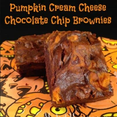 Pumpkin Cream Cheese Chocolate Chip Brownies Recipe bring together two great mix-ins into one great brownie. Try these out this fall season.